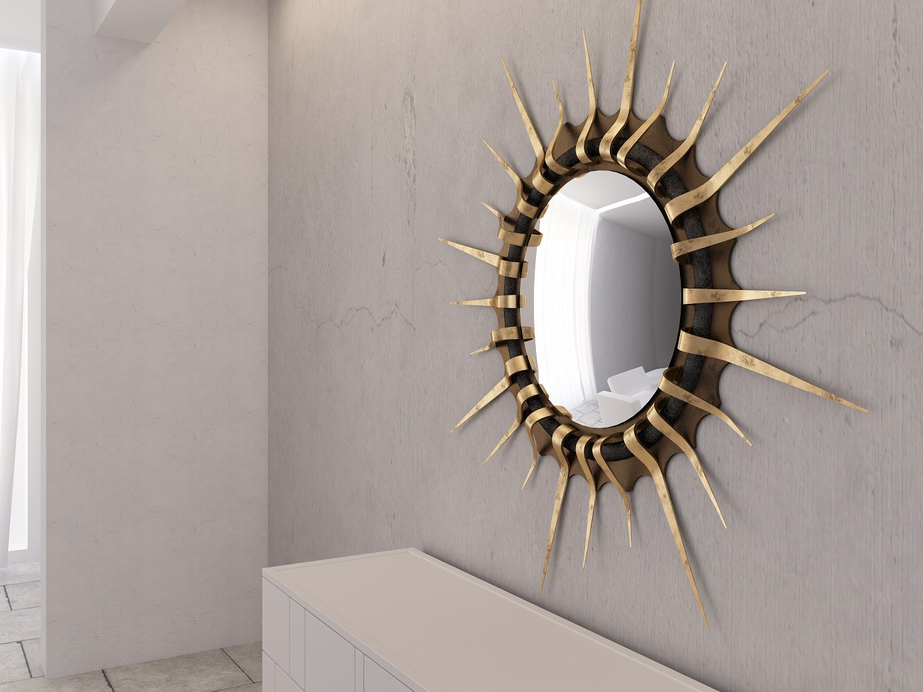 Mirror frame made in Florence