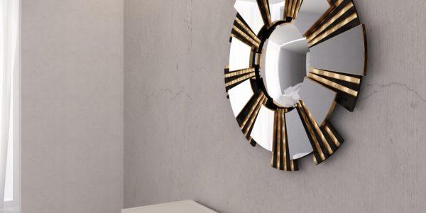 SPINI INTERNI предлагает создать уникальный интерьер . Зеркало,консоль,кровать.