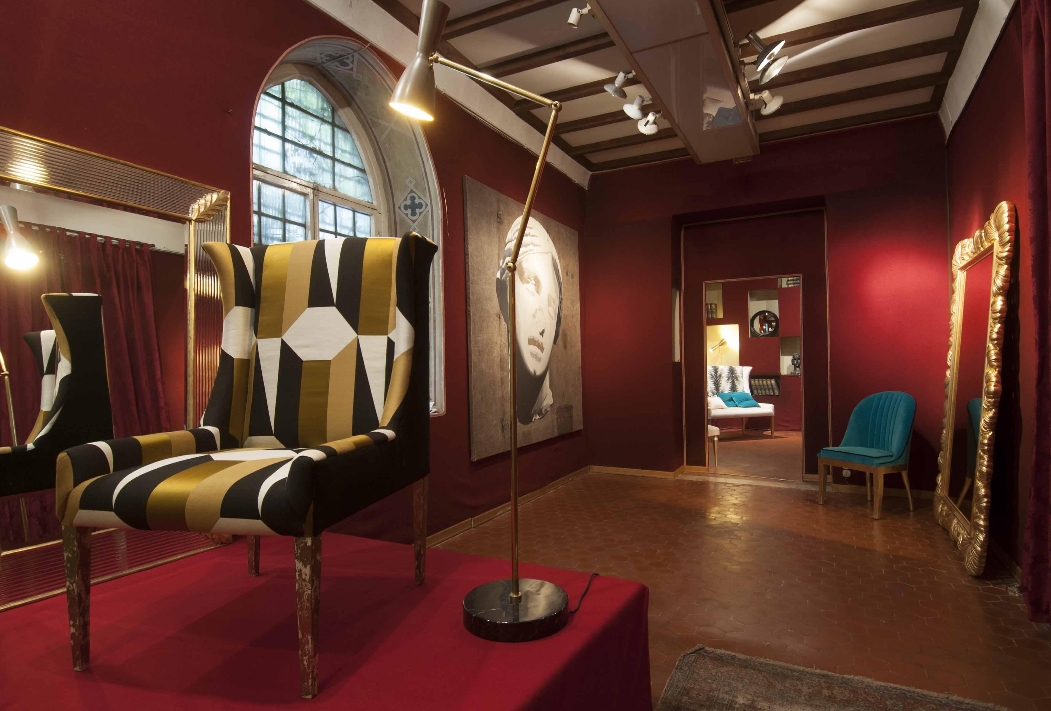 Mobili In Stile Gotico le collezioni d'arredo spini interni esposte a palazzo
